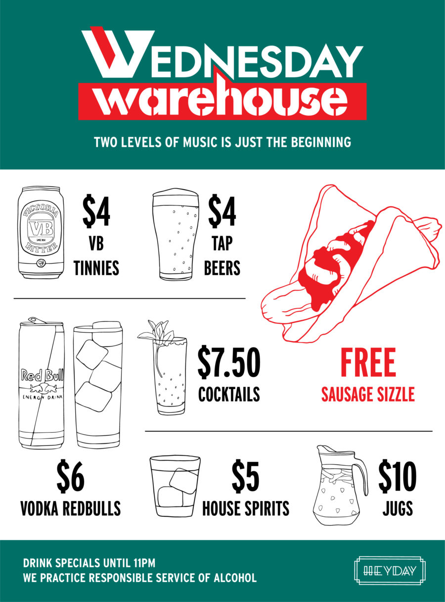 Wednesday Warehouse