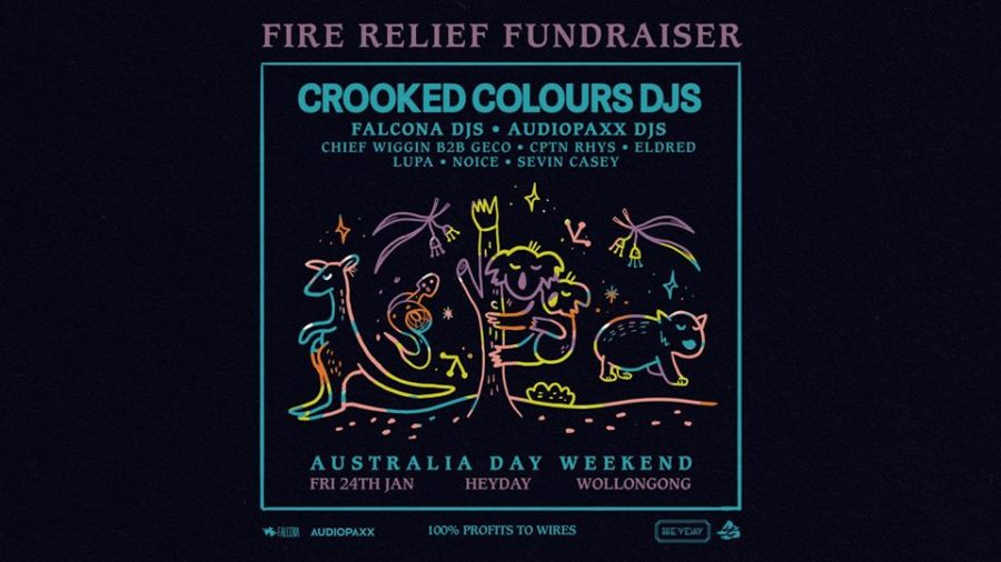 ACCESS Fire Fundraiser ft. Crooked Colours DJs